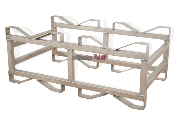 Stainless steel combination rack for 50 l barrels