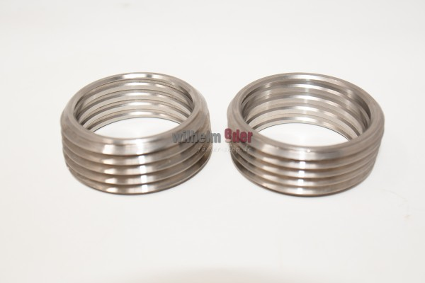 Bung hole ring - stainless steel
