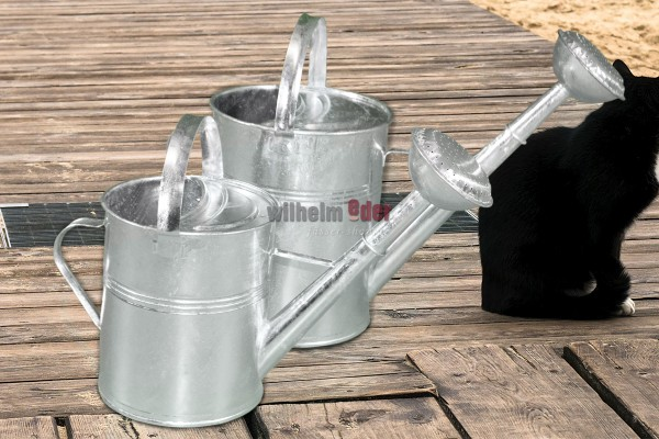 Watering can 5 l - 9 l - galvanized