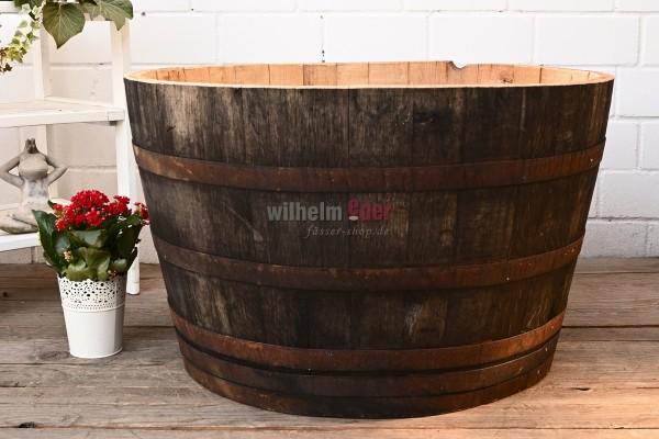 Flower pot - 1/2 300 - 350 l wine spirit barrel