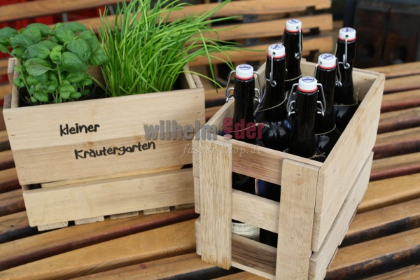 Decorative wooden box - Sixpack