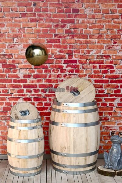 Rain barrel made from chestnut wood 50 l – 150 l