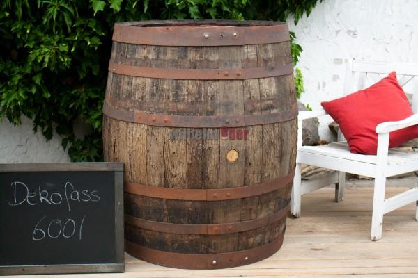 Ornamental barrel 600 l - rustic