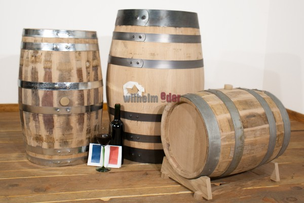 Red wine barrel 30 l - 100 l - Château Margaux - rebuilt