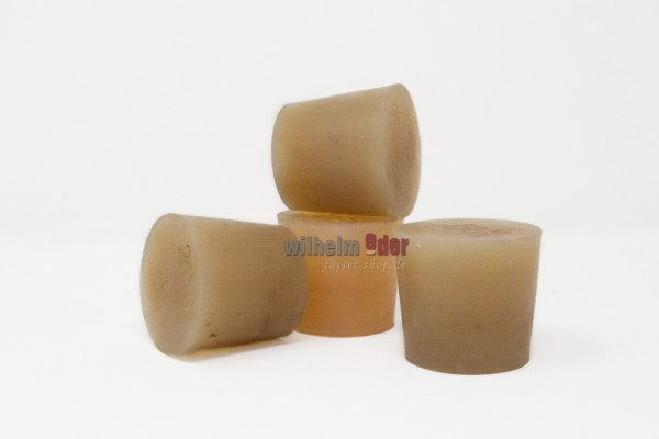 Silicone Bung used