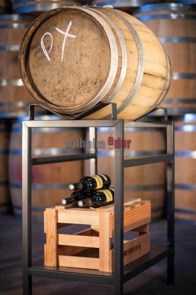 Stainless steel rack for 110 l - barrel