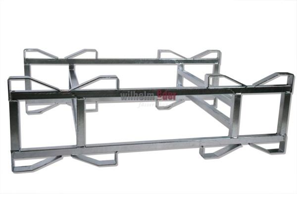 Rack - galvanized - double, combination 225/228 l