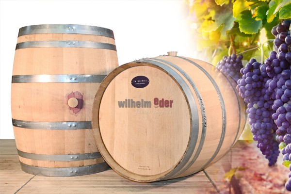 Decoration barrel 225 l - Red wine from Baden