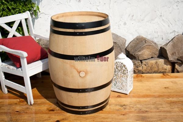 Ornamental barrel 225 l - exclusiv, hoops black
