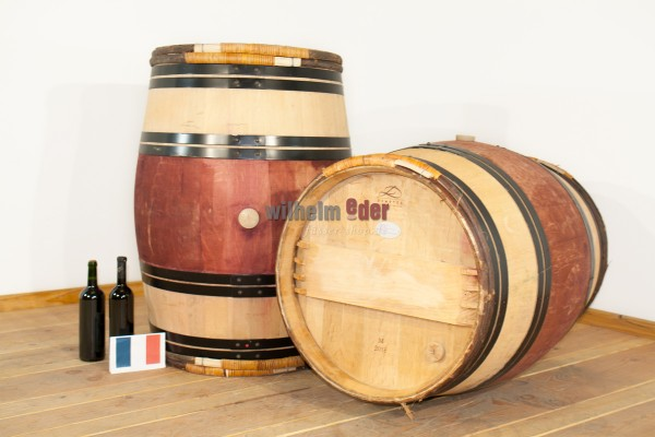 Red wine barrel 225 l - vintage 2014-2015