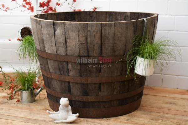 Flower pot - 1/2 Whiskybarrel