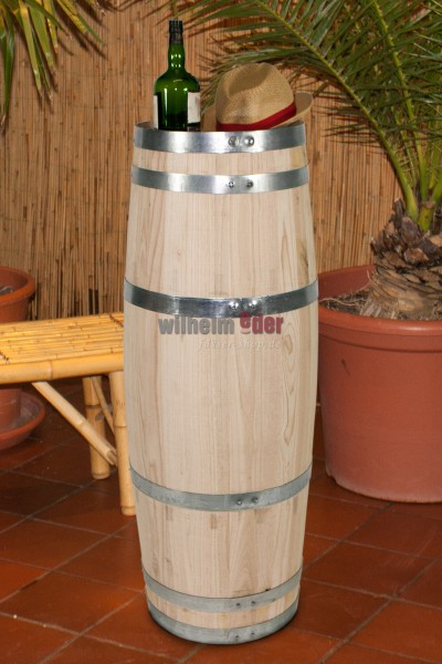 Decoration barrel cigar shape 100 l chestnut