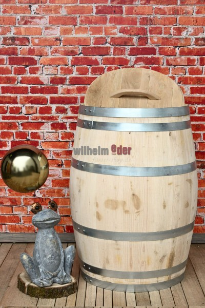 Rain barrel made from chestnut wood 225 l