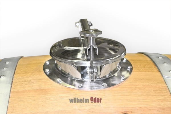 Dome lid 220 mm - stainless steel