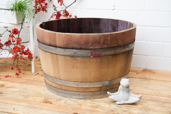 Flower pot special offer - 1/2 barrel