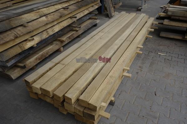 Squared timber oak