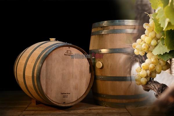White wine barrel 225 l - vintage 2020