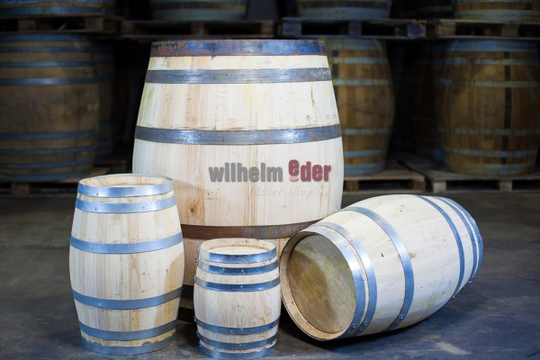 Decoration barrel chestnut - natural