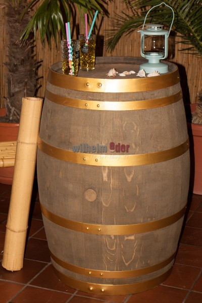 Decoration barrel 225 l - Golden Style