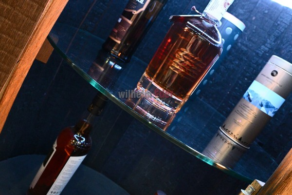 Glas plate 60 cm for shelf barrels