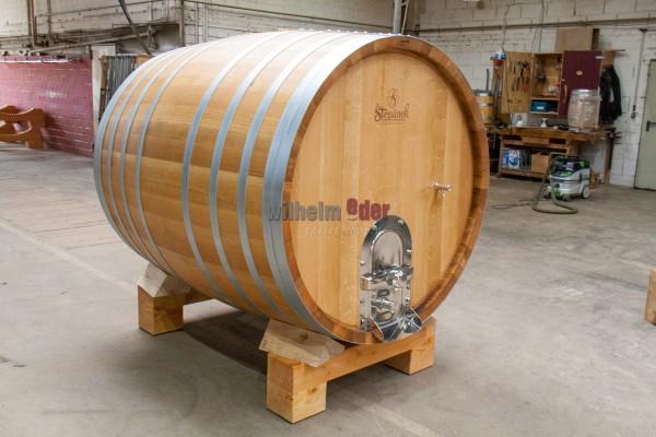 EDER - FassStolz® 2000 l round - German oak