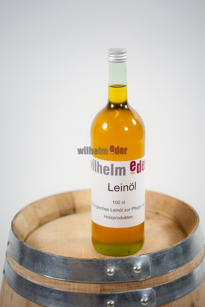 Barrel care product linseed oil