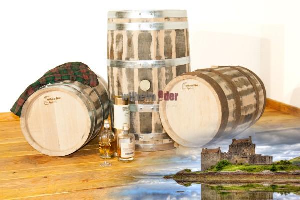 Single Malt Whiskybarrel 20 l - 50 l - rebuilt