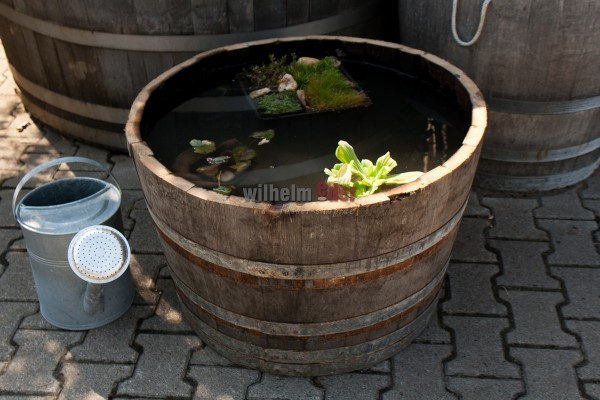 Flower pot - half 300 l barrel