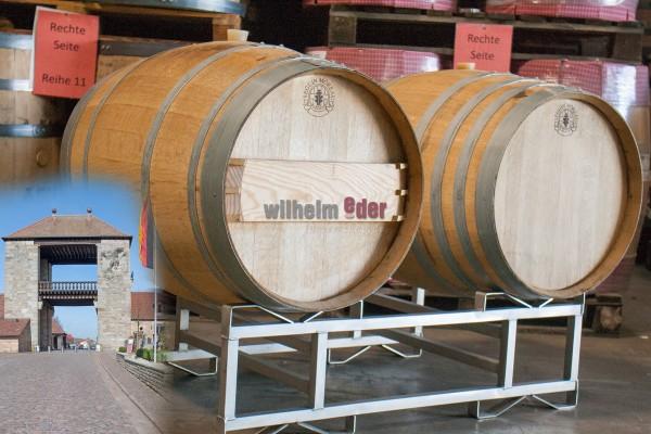 White wine barrel 225 l - vintage 2017/2018