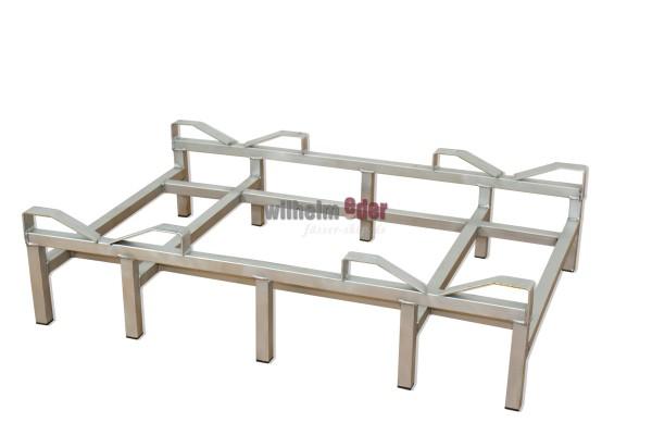 Rack - stainless steel Double rack for bottom - 300 l