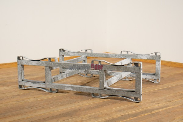 Galvanized used racks for 225l / 228l