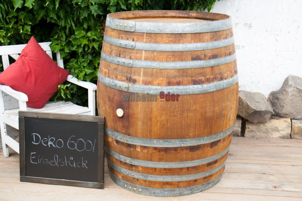 Decoration barrel 600 l - single piece