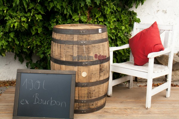 Decoration barrel 190 l - Bourbon