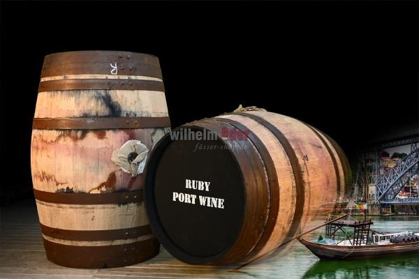 Port wine barrel 128 l - Ruby