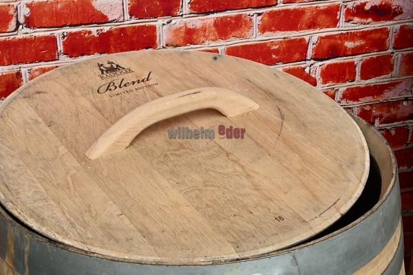 Replacement lid for rain barrels